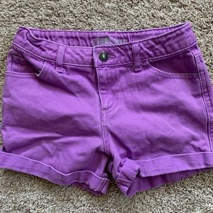 Shorts Girl 12 Cherokee purple